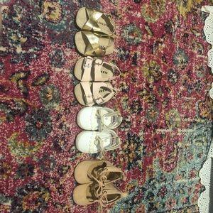0-3 month girls summer sandals